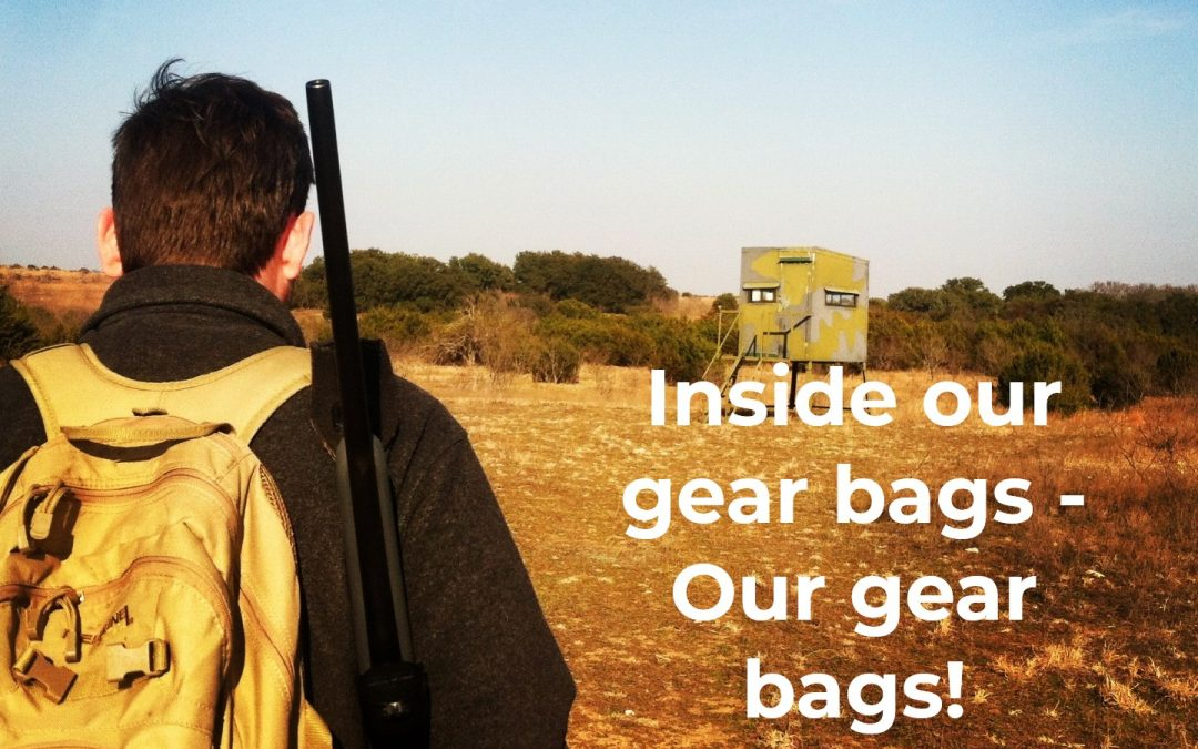 Inside our gear bags – Our gear Bags!