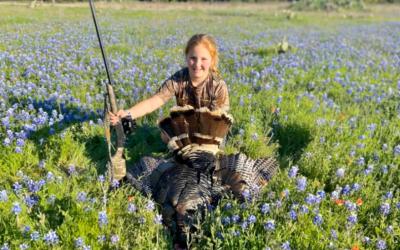 A new hunter's first turkey hunting success